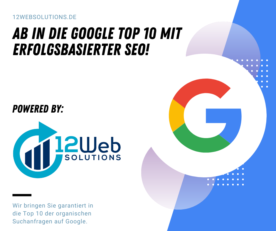Welche Rankings können mit Erfolgsbasierter SEO auf Google erreicht und vertraglich festgelegt werden